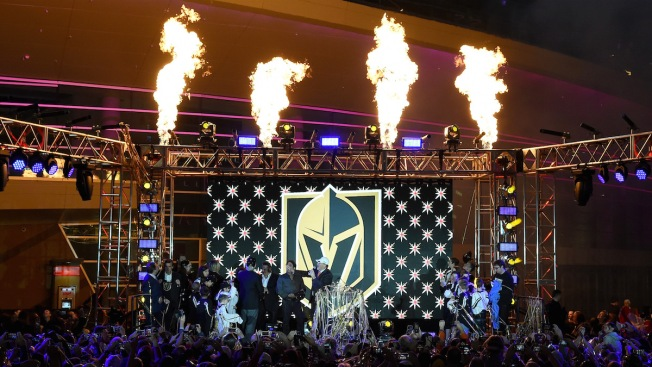 Las Vegas NHL team named Golden Knights