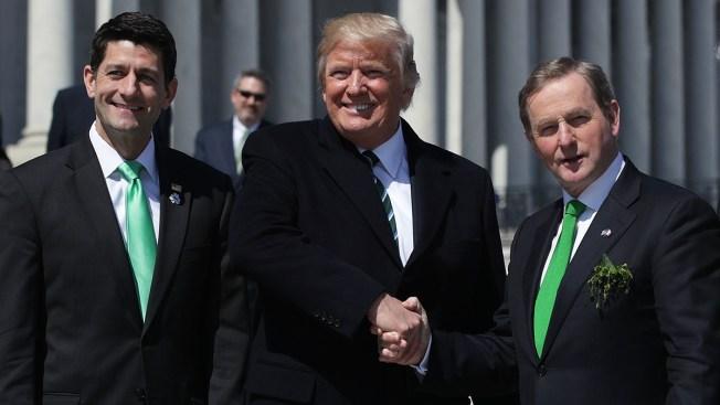 Ireland's Leader Pushes Trump on Irish in US Illegally