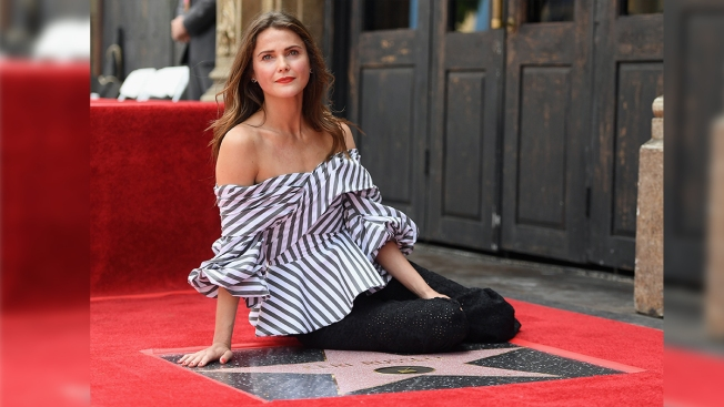 'The Americans' Actress Keri Russell Receives Hollywood Walk of Fame Star