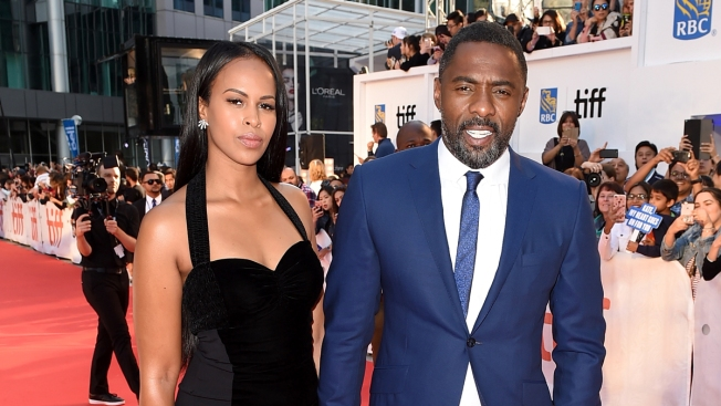 Idris Elba Proposes to Sabrina Dhowre at Theater in London
