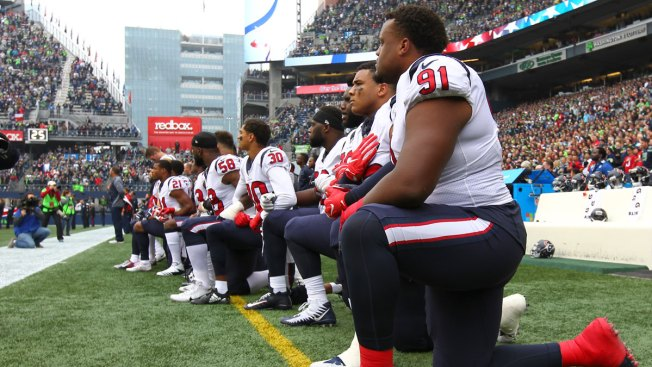 Image result for Texans take a knee