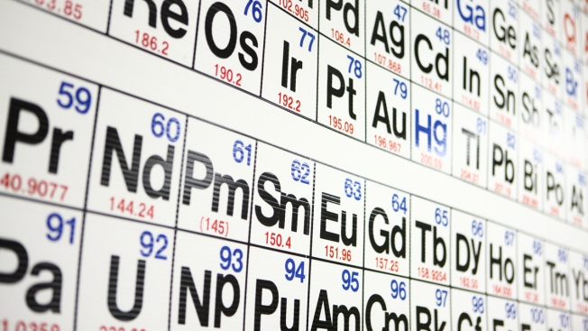 Periodic Table Gains 4 Elements, Completes 7th Row