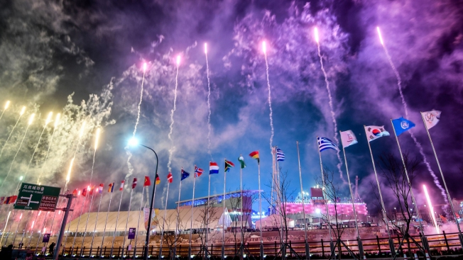 [NATL] Flags, Fireworks and a Tiger Puppet: the Pyeongchang Winter Olympics Opening Ceremony in Photos