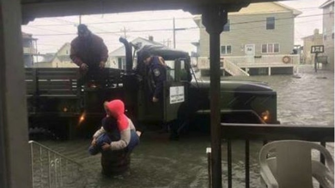 'The Water Was Crazy': Mom Describes Family's Jersey Shore Rescue