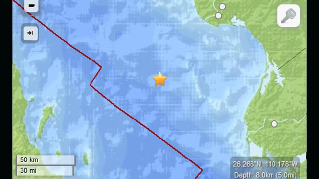 USGS: 6.4-Magnitude Quake Hits Gulf of California