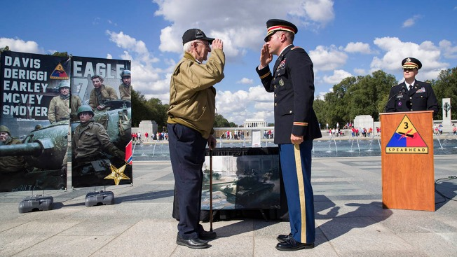 The 'Hero of Cologne' Receives His Bronze Star 75 Years Late