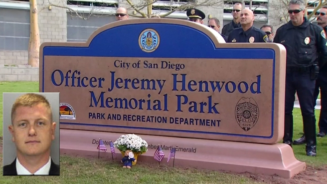 City Heights Park Dedicated to Slain SDPD Officer, Marine