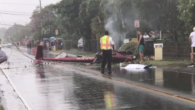 3 Dead in Fiery Tour Helicopter Crash Near Honolulu