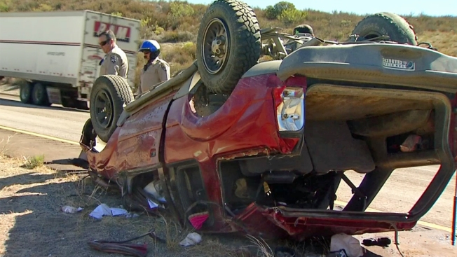 Toddler Ejected From SUV in Rollover Near Alpine