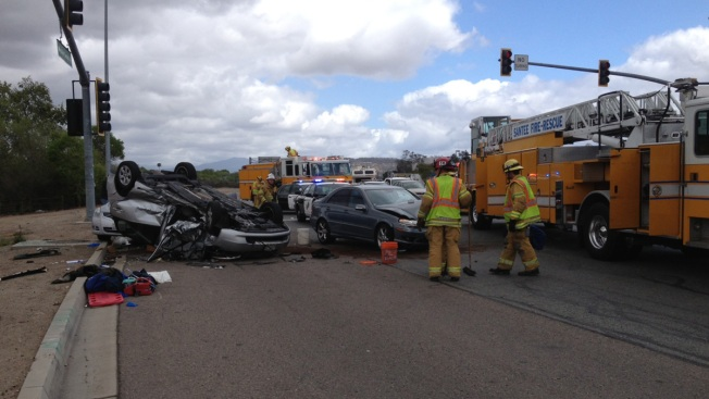 Three-Vehicle Accident on SR-125 Leaves Two Critically Injured