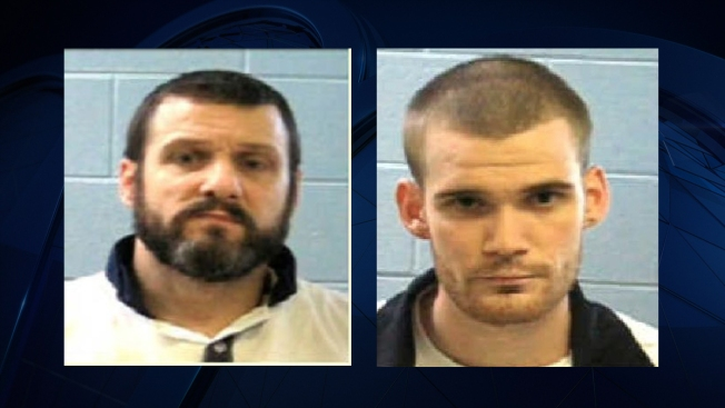 Two inmates at large in Georgia after two prison guards shot, killed