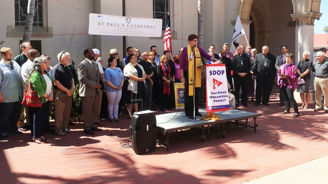 San Diego Clergy Stand United Against Hate, Racism