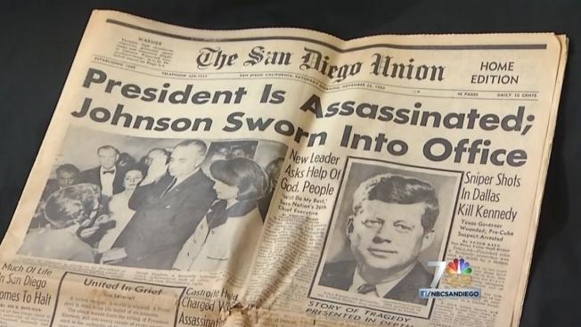 SD Reporters' Notebooks: Flashbacks to JFK's Death in Dallas