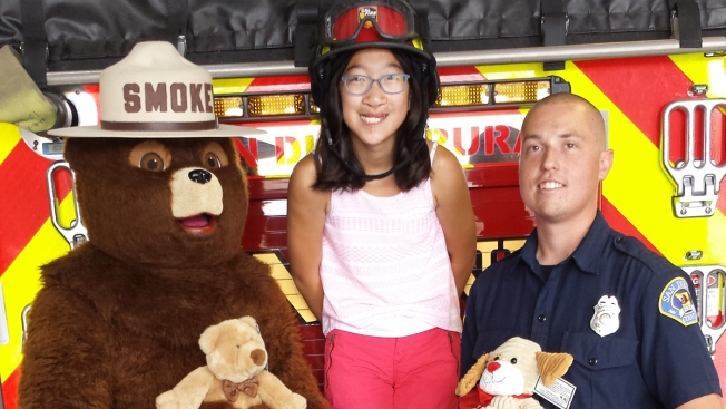 San Diego Girl, 12, Donates Teddy Bears to Fire Stations