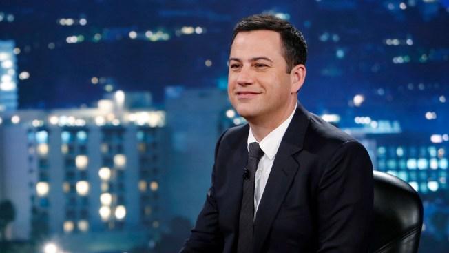 """Jimmy Kimmel Talks Kanye West Twitter Rant: """"Finally, I'm in a Rap Feud"""""""