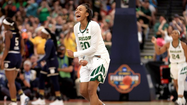 Baylor Holds Off Notre Dame 82-81 for Women's Title