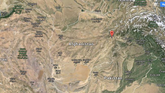Moderate 5.3 Earthquake Rocks Afghanistan, Pakistan