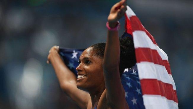 US Hurdler Uses Olympic Platform to Address Gun Violence