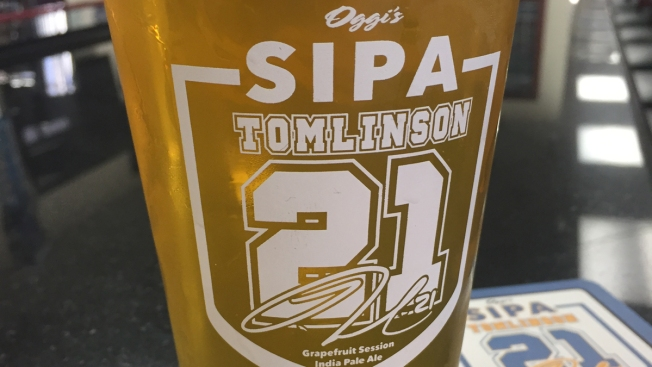 Chargers Icon LaDanian Tomlinson Inspires Beer for Oggi's