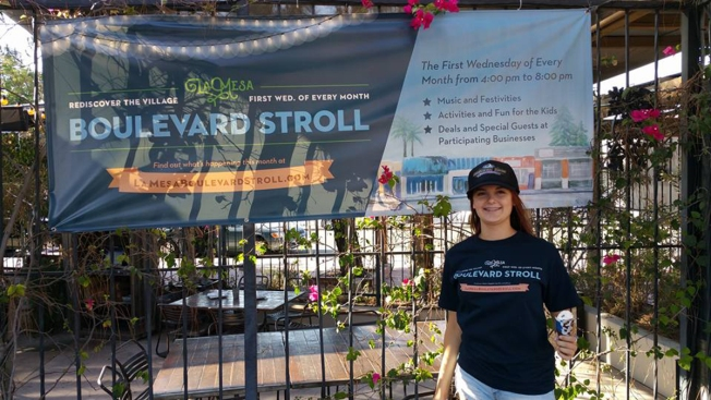 Small Businesses, Restaurants Unite for 'La Mesa Boulevard Stroll'