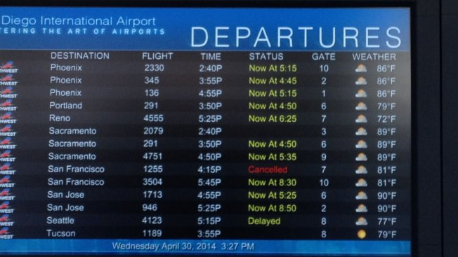 Computer Problems Halt Outgoing Flights at SoCal Airports