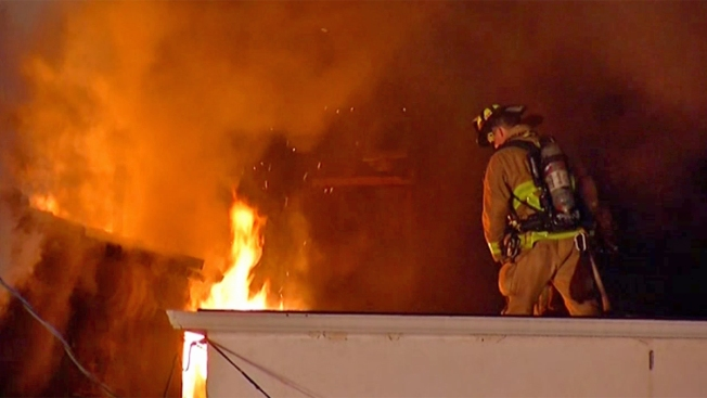 Mission Beach Vacation Rental Goes Up in Flames