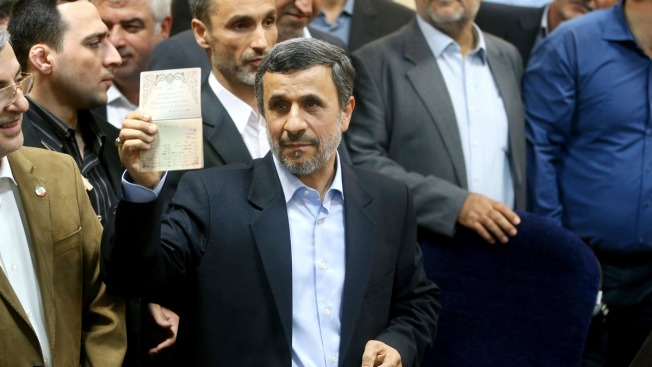 Iran's Ahmadinejad Disqualified From Presidential Election