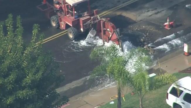 Water Main Breaks in Kearny Mesa