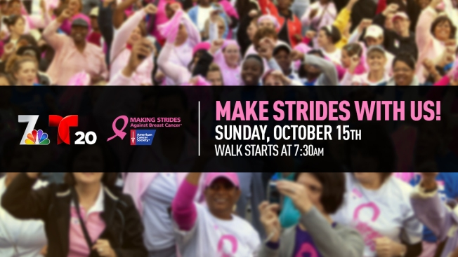 Making Strides Against Breast Cancer Walk 2017
