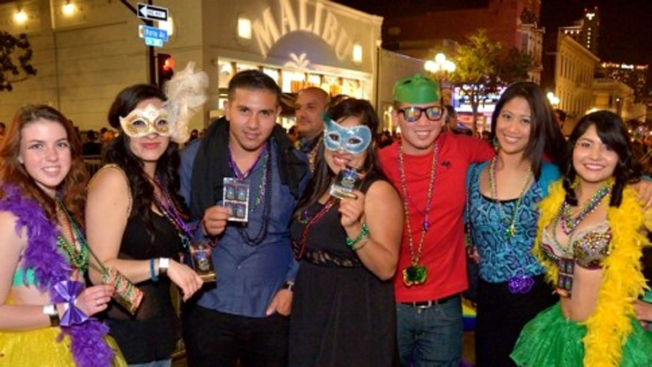 Mardi Gras Celebration to Heat Up San Diego's Gaslamp Quarter