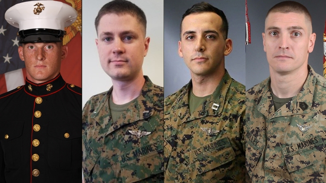 Officials ID 4 Marines Killed in Helicopter Crash Near El Centro