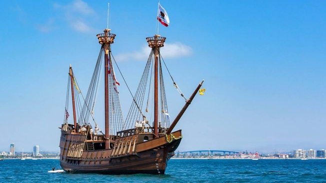 Maritime Museum Recreates Cannon Battles on San Diego Bay