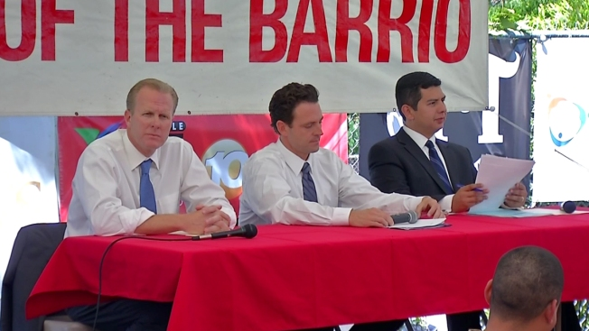 Top Mayoral Contenders Square-Off in Barrio Logan Debate