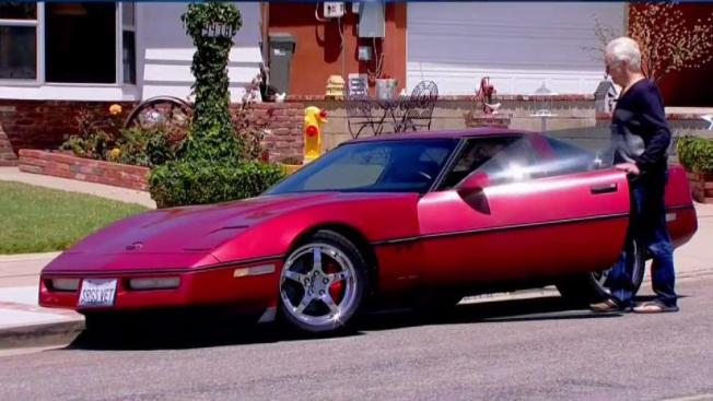 Resolving The Case Of The Little Red Corvette Nbc 7 San Diego