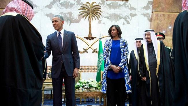 Michelle Obama Navigates Saudi Arabia's Limits on Women