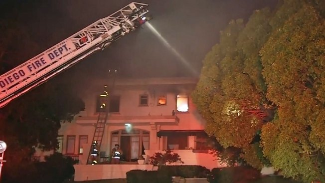 Neighbor Rescues Man from Mission Hills Fire
