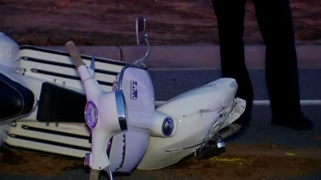 Teen Driver Collides with Off-Duty Officer on Moped