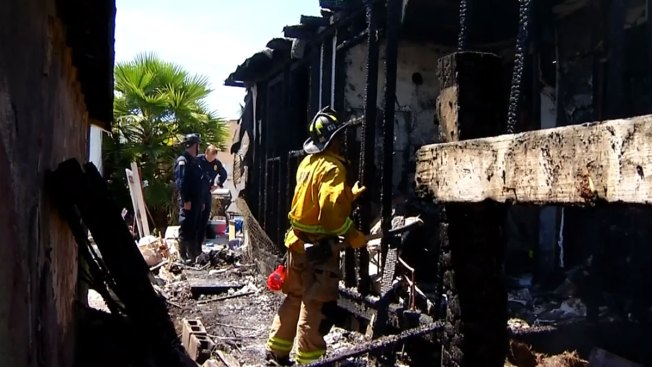 1 Injured, 12 Displaced in Mountain View House Fire