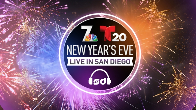 NBC 7, T20 and SoundDiego Host New Year's Eve Bash in San Diego