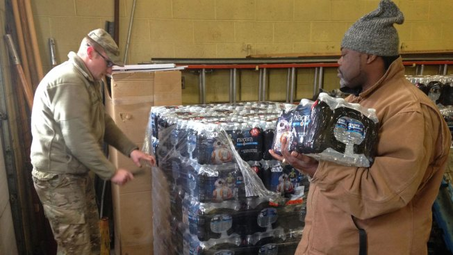 More National Guards Arrive in Flint as Water Crisis Widens