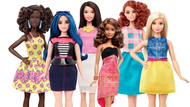 Barbie Has New Body Types, Skin Colors