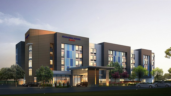 New SpringHill Suites Hotel Opening in Mission Valley