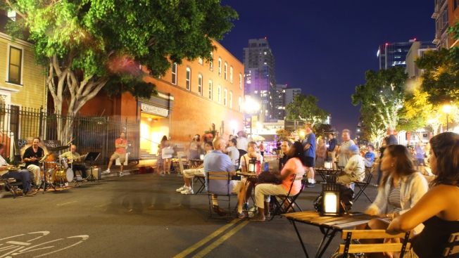"Live Music, Dance at Downtown's ""Night Plaza"""