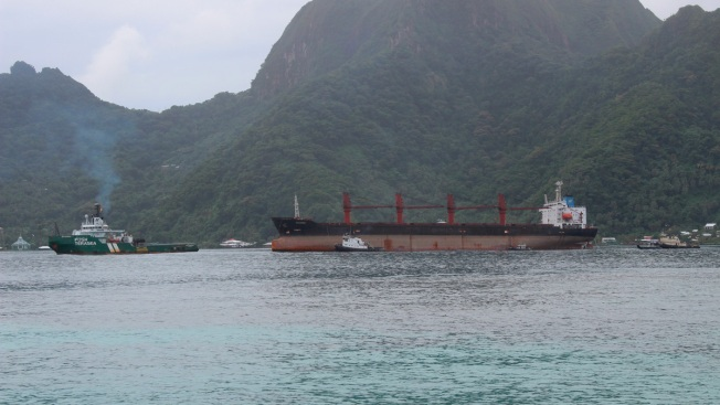 N. Korean Cargo Ship Seized by US Arrives in American Samoa