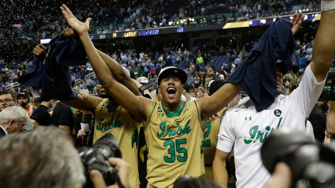 Notre Dame Surges Past UNC, 90-82, to Claim First ACC Title
