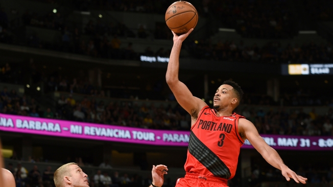 CJ McCollum Leads Blazers Past Nuggets 100-96 in Game 7