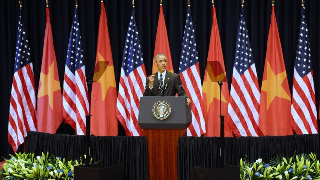 Obama Pushes for Better Rights in Vietnam After Arms Deal