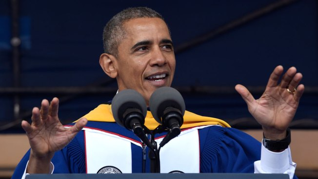 Obama to Howard Graduates: US in 'Better Place' Than When I Graduted College