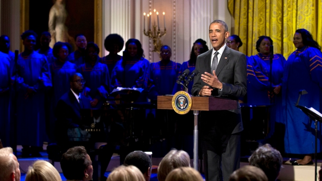 Obamas, Bidens Share Favorite Holiday Tunes on Spotify