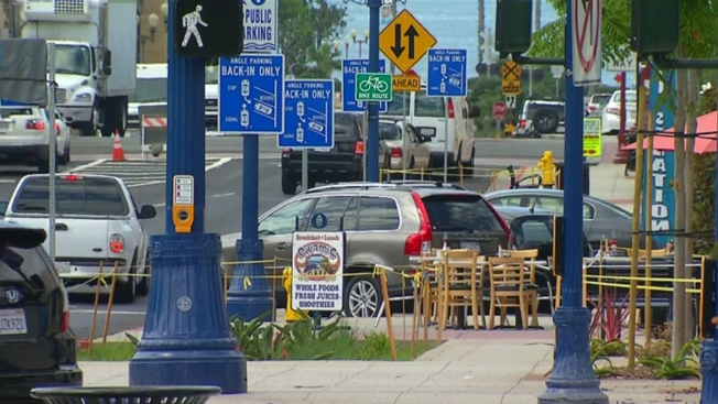 Back-in Parking to Start in Oceanside